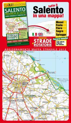 Immagine di Salento carta stradale e turistica. Provincia di Lecce carta stradale e turistica. Ediz. multilingue