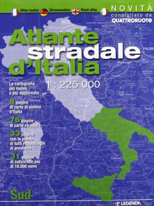 Immagine di ATLANTE STRADALE D`ITALIA SUD 1:225.000