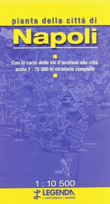 Immagine di NAPOLI - PIANTA DELLA CITTA` 1:10.500