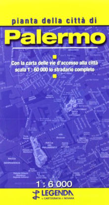Immagine di PALERMO - PIANTA DELLA CITTA` 1:6.000