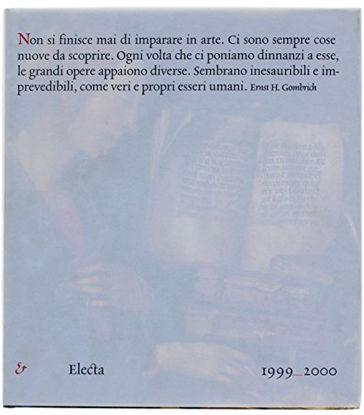 Immagine di ELECTA 1999 2000 CATALOGO ARTE