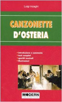 Immagine di CANZONETTE D`OSTERIA