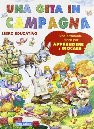 Immagine di GITA IN CAMPAGNA (UNA) LIBRO EDUCATIVO