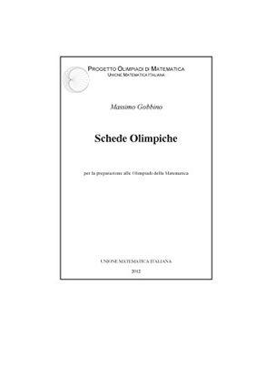Immagine di SCHEDE OLIMPICHE PROGETTO OLIMPIADI DI MATEMATICA