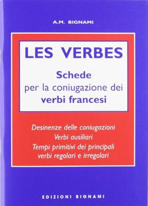 Immagine di LES VERBES SCHEDE PER CONIUGAZIONE VERBI