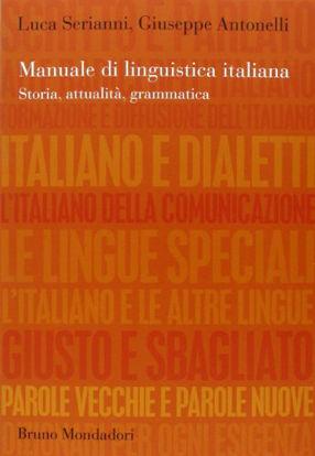Immagine di MANUALE DI LINGUISTICA ITALIANA