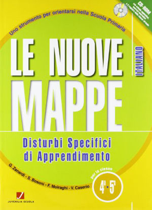 Immagine di NUOVE MAPPE DSA-ITALIANO 4/5 - VOLUME 4/5