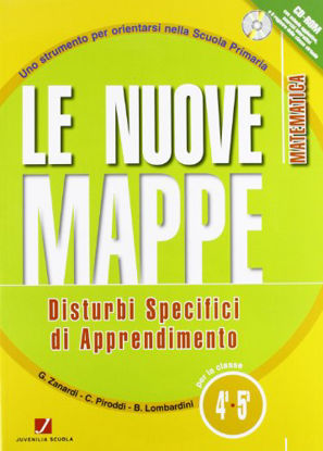 Immagine di NUOVE MAPPE DSA-MATEMATICA 4/5 - VOLUME 4/5