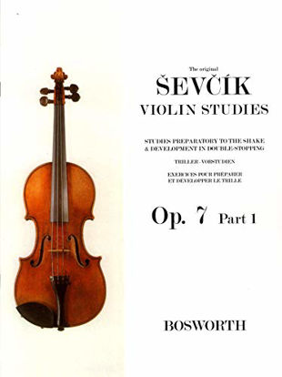 Immagine di ORIGINAL SEVCIK - VIOLIN STUDIES OP. 7 PART 1