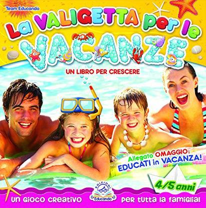 Immagine di VALIGETTA PER LE VACANZE. 4/5 ANNI.+CD AUDIO