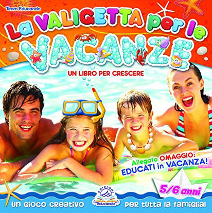 Immagine di VALIGETTA PER LE VACANZE. 5/6 ANNI.+CD AUDIO