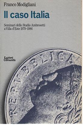 Immagine di CASO ITALIA (IL) SEMINARI DELLO STUDIO AMBROSETTI A VILLA D`ESTE 1979-1986
