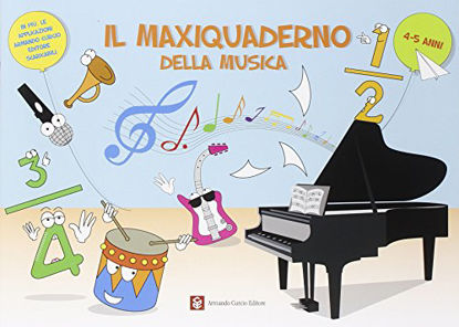 Immagine di MAXI QUADERNO DELLA MUSICA (IL)