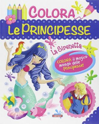 Immagine di COLORA LE PRINCIPESSE - LA SIRENETTA