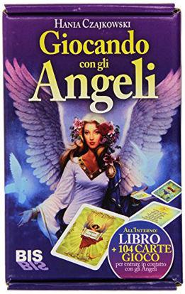 Immagine di GIOCANDO CON GLI ANGELI - LIBRO + 104 CARTE GIOCO