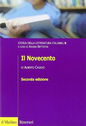 Immagine di STORIA DELLA LETTERATURA ITALIANA. VOL.6 - IL NOVECENTO - VOLUME 6