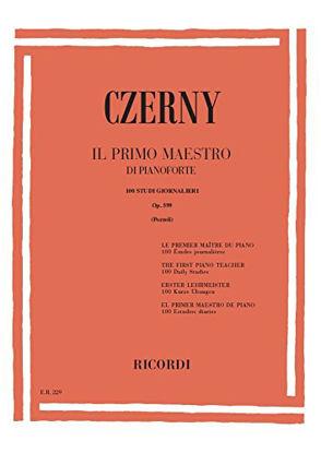 Immagine di PRIMO MAESTRO DI PIANOFORTE 100 STUDI OPERA 599