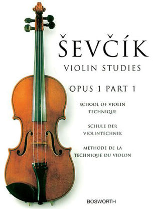 Immagine di SEVCIK VIOLIN STUDIES OP 1 PART 1
