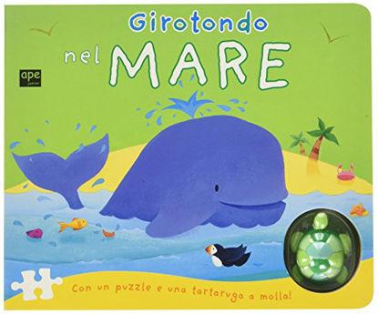 Immagine di GIROTONDO NEL MARE. LIBRO PUZZLE. CON GADGET