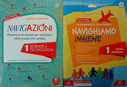 Immagine di NAVIGAZIONI. SCIENZE E TECNOLOGIA.+CD CL. 1° - VOLUME 1