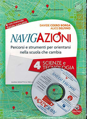 Immagine di NAVIGAZIONI. SCIENZE E TECNOLOGIA.+CD CL. 4° - VOLUME 4