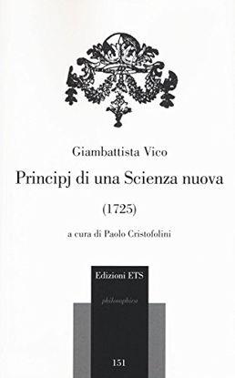 Immagine di PRINCIPI DI UNA SCIENZA NUOVA (1725)