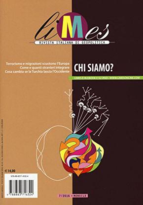 Immagine di LIMES. RIVISTA ITALIANA DI GEOPOLITICA. VOL. 7: CHI SIAMO. - VOLUME 7