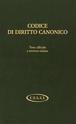 Immagine di CODICE DI DIRITTO CANONICO. TESTO UFFICIALE