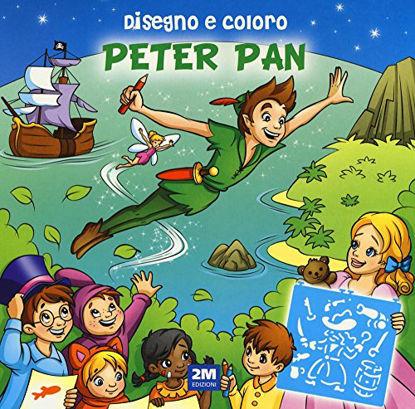 Immagine di DISEGNO E COLORO PETER PAN. EDIZ. A SPIRALE