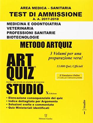 Immagine di ARTQUIZ STUDIO. AREA MEDICA SANITARIA 2017-2018