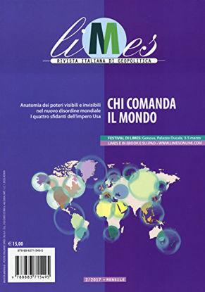 Immagine di LIMES. RIVISTA ITALIANA DI GEOPOLITICA (2017). VOL. 2: CHI COMANDA IL MONDO - VOLUME 2