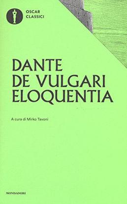 Immagine di DE VULGARI ELOQUENTIA