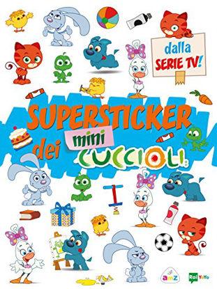 Immagine di SUPER STICKERS DEI MINI CUCCIOLI. EDIZ. A COLORI