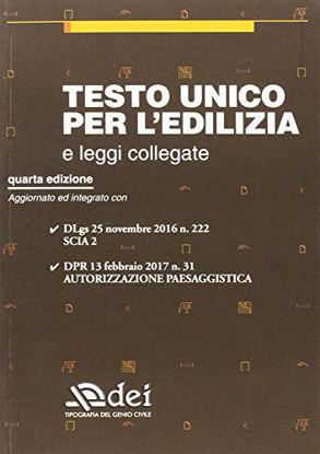Immagine di TESTO UNICO PER L`EDILIZIA E LEGGI COLLEGATE