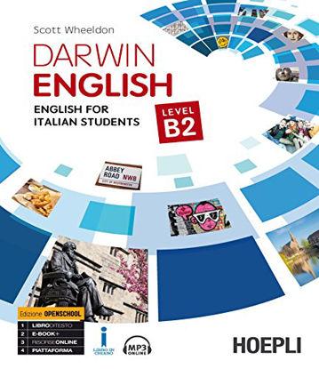 Immagine di DARWIN ENGLISH. ENGLISH FOR ITALIAN STUDENTS. LEVEL B2