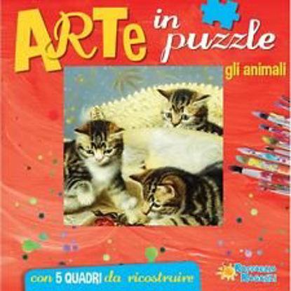 Immagine di ARTE IN PUZZLE - GLI ANIMALI