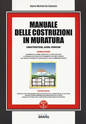 Immagine di MANUALE DELLE COSTRUZIONI IN MURATURA