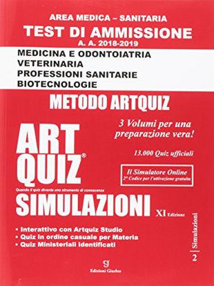 Immagine di ARTQUIZ SIMULAZIONI 2018-2019 - AREA MEDICA-SANITARIA