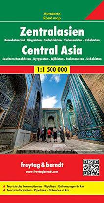 Immagine di ASIA CENTRALE 1:500.000