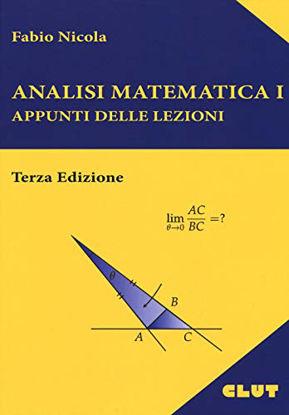 Immagine di ANALISI MATEMATICA I - APPUNTI DELLE LEZIONI - III
