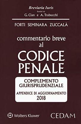 Immagine di COMMENTARIO BREVE AL CODICE PENALE. APPENDICE DI AGGIORNAMENTO 2018