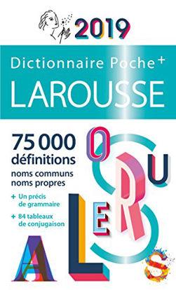 Immagine di DICTIONNAIRE LAROUSSE DE POCHE PLUS 2019