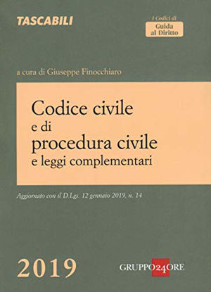 Immagine di CODICE CIVILE E DI PROCEDURA CIVILE 2019
