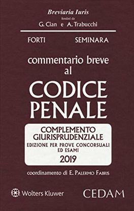 Immagine di COMMENTARIO BREVE AL CODICE PENALE 2019