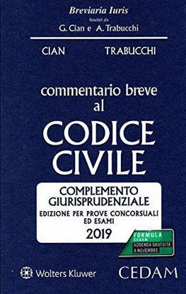 Immagine di COMMENTARIO BREVE AL CODICE CIVILE 2019