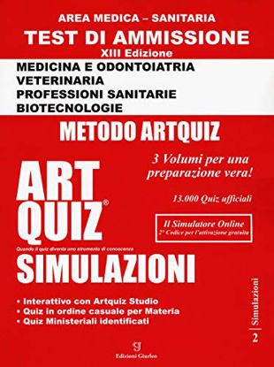 Immagine di ART QUIZ SIMULAZIONI - AREA MEDICA SANITARIA