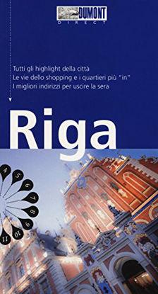 Immagine di RIGA. CON CARTA GEOGRAFICA RIPIEGATA