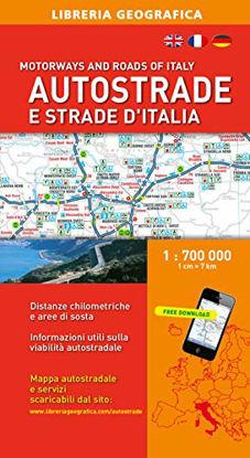 Immagine di AUTOSTRADE E STRADE D`ITALIA 1:700.000