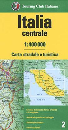 Immagine di ITALIA CENTRALE 1:400.000. CARTA STRADALE E TURISTICA