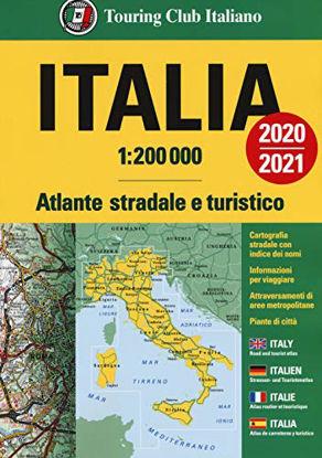 Immagine di ATLANTE STRADALE ITALIA 1:200.000. EDIZ. ITALIANA, INGLESE, FRANCESE, TEDESCA E SPAGNOLA
